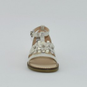 Morelli I54215A girl sandals silver