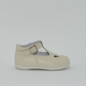 Balducci cita basic ivory girl firts steps sandals