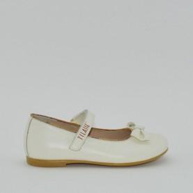 Alviero Martini N1960 girl flat shoes white