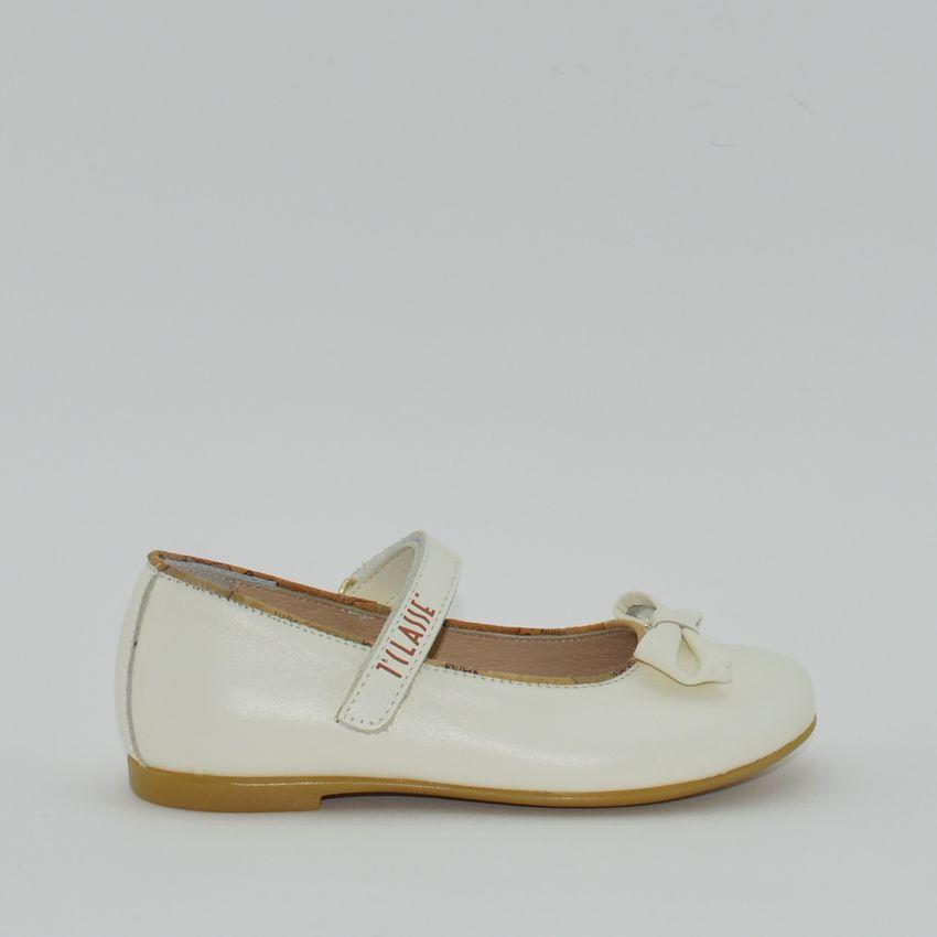 new style 98427 32c17 Alviero Martini N1934 ballerina pelle latte con fiocco