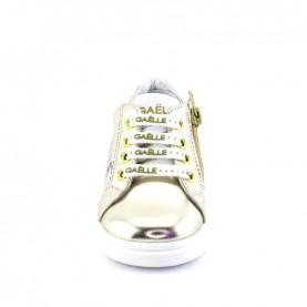 Gaelle G-742 platinum baby girl sneakers