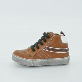 Walk Safari 52020 boy sneakers light brown letaher