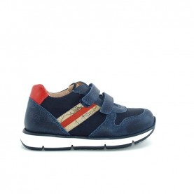 Alviero Martini N2602 baby boy geo blue sneakers