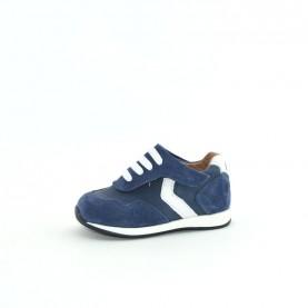 Walkey 60576 baby boy blue shoes