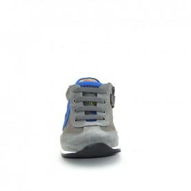Walkey 60574 baby boy grey blue shoes