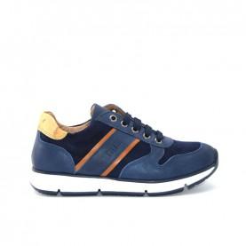 Alviero Martini N0170 boy  blue sneakers