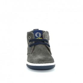 Walkey 40001 baby boy grey lace ups shoes