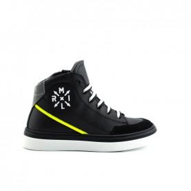 Morelli 50684 black sneakers