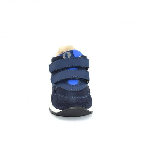 Walkey 40827 baby boy blue sneakers