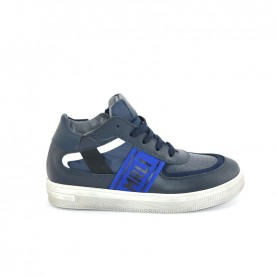 Morelli 51195 blue high sneakers
