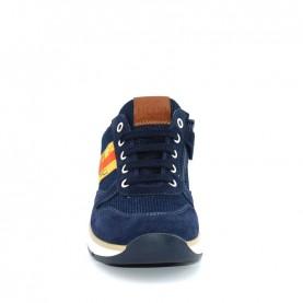 Alviero Martini N0450 baby boy blue sneakers