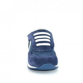 Walkey 00194 baby boy blue shoes