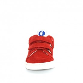 Walkey 00200 baby boy red shoes