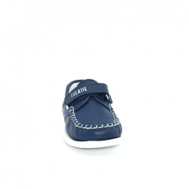 Alviero Martini N0436 baby boy blue loafer