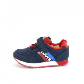 Levi's mini Springfield blue and red sneakers