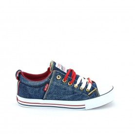 Levi's Original Low blue jeans baby sneakers