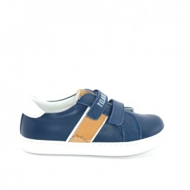 Alviero Martini N0335 baby boy blue sneakers