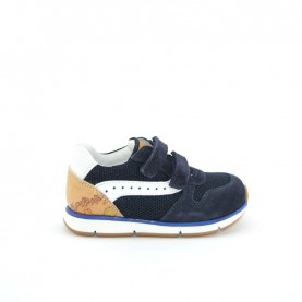 Alviero Martini N0337 baby boy blue sneakers