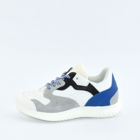 Morelli 50472 boy white blue sneakers