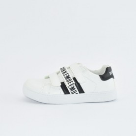 Bikkembergs 20512 white and black sneakers