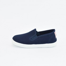 Cienta 57000 marine blue fabric sneakers