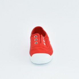 Cienta 70997 red fabric sneakers