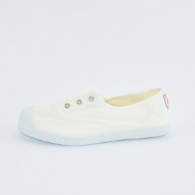 Cienta 70997 white fabric sneakers