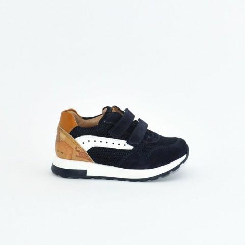Alviero Martini N0665 baby boy blue sneakers