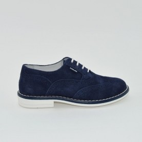 Balducci english blue lace ups shoes
