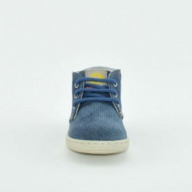 Walkey H60532 baby boy jeans first steps shoes
