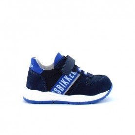 Bikkembers 20676 baby boy blue shoes