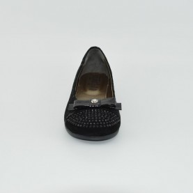 Alviero Martini N1496 girl ballet flat black