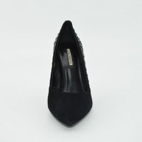 Luciano Barachini 5344A classic heels suede black