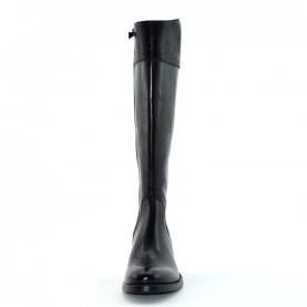 Corvari D932 woman black leather boots