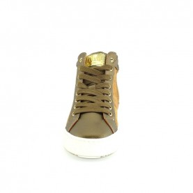 Alviero Martini MM12495 baby girl bronze sneakers