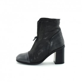 Lilimill 6438 woman black grey ankle boots