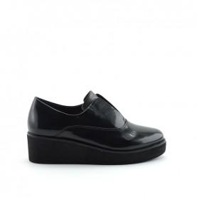 Barachini 9021A woman black pathent leather slip-on