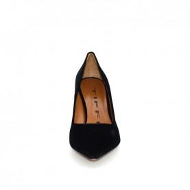 Tiffi N593/S80 black velvet high star heels pointed classic shoes