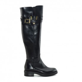 Tiffi A345 black leather boots