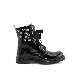 Morelli 50606 black combact boots