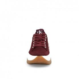 Calvin Klein Tisha bordeaux woman chunky sneakers