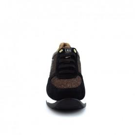 Alviero Martini N0428 black bronze glitter sneakers