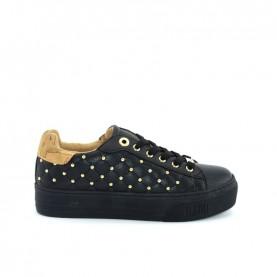 Alviero Martini 10368 black geo beige sneakers
