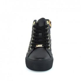 Alviero Martini 10369 black geo beige sneakers
