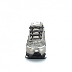 Apepazza 9FRSD37 pewter woman sneakers