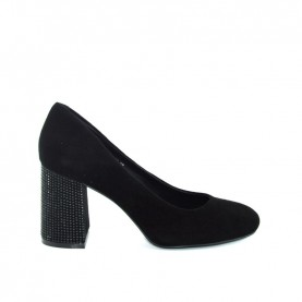 Barachini DD613E black medium heels decoltè