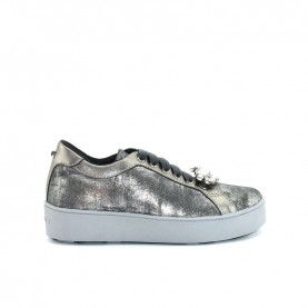 Apepazza 9FSLW04 pewter woman sneakers