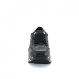 Alviero Martini Z9856 geo black sneakers