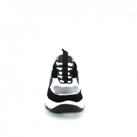Calvin Klein Maya white black woman chunky sneakers