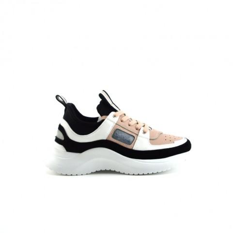 Calvin Klein Ultra black woman chunky sneakers